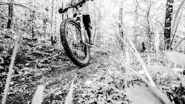 583Mountainbike Black & White