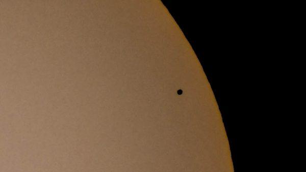 588Mercury sun transit