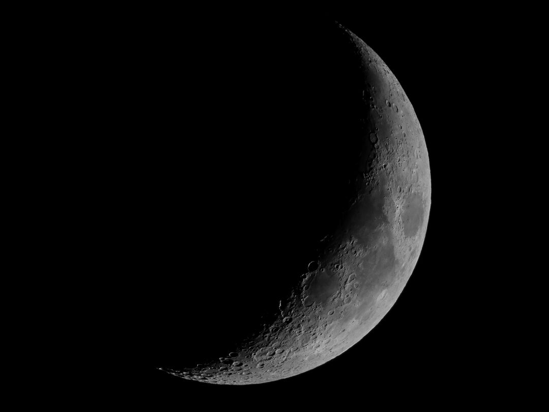 760Sliver of the Moon