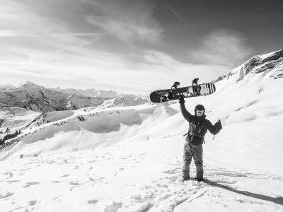 862We love snowboarding